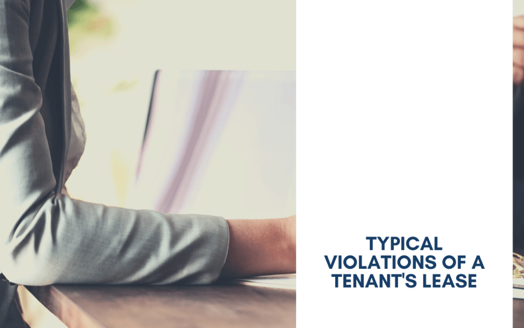 What Are Typical Violations of a Tenants Lease Agreement - article banner
