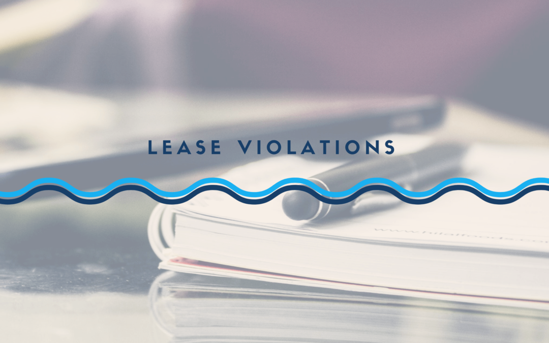 What Can You Do About Lease Violations | Albuquerque Landlord Education - article banner